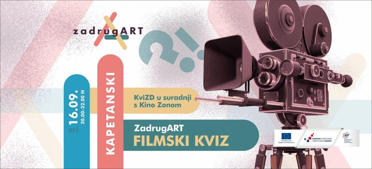 ZadrugArt - Filmski kviz