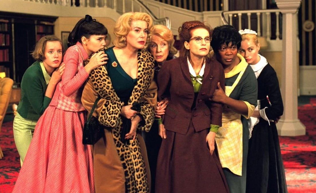 Rendez-vous au cinéma: 8 žena
