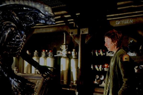 """For the end of this year's program, the SF classic """"Alien"""" arrives in the Kino Zona"""