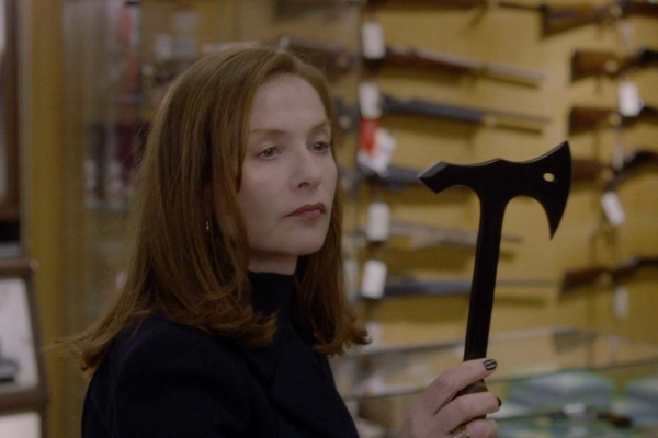 Verhoeven + Huppert: The perfect recipe for a phenomenal thriller!