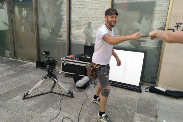 Snimanje promo videa ljetne 2021 Kino Zone