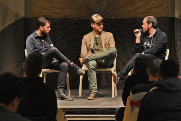 """Screening of the short film """"Slice of Life"""" and a moderated conversation with the authors of the film"""