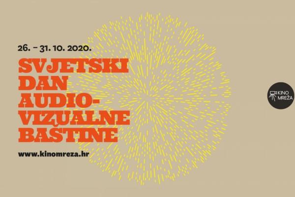 Svjetski dan audiovizualne baštine ove godine održava se online!